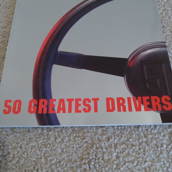 """2 Nascar """"50 of the Greatest Drivers"""" Books"""